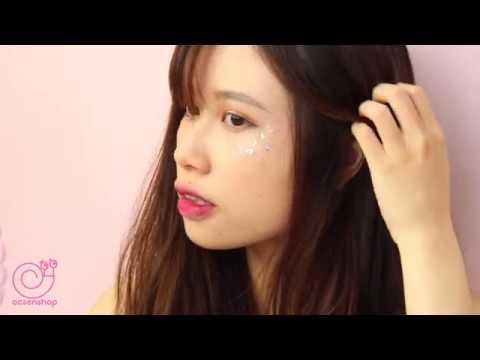[Ocsenshop] 💓 Hướng dẫn sử dụng makeup glitter