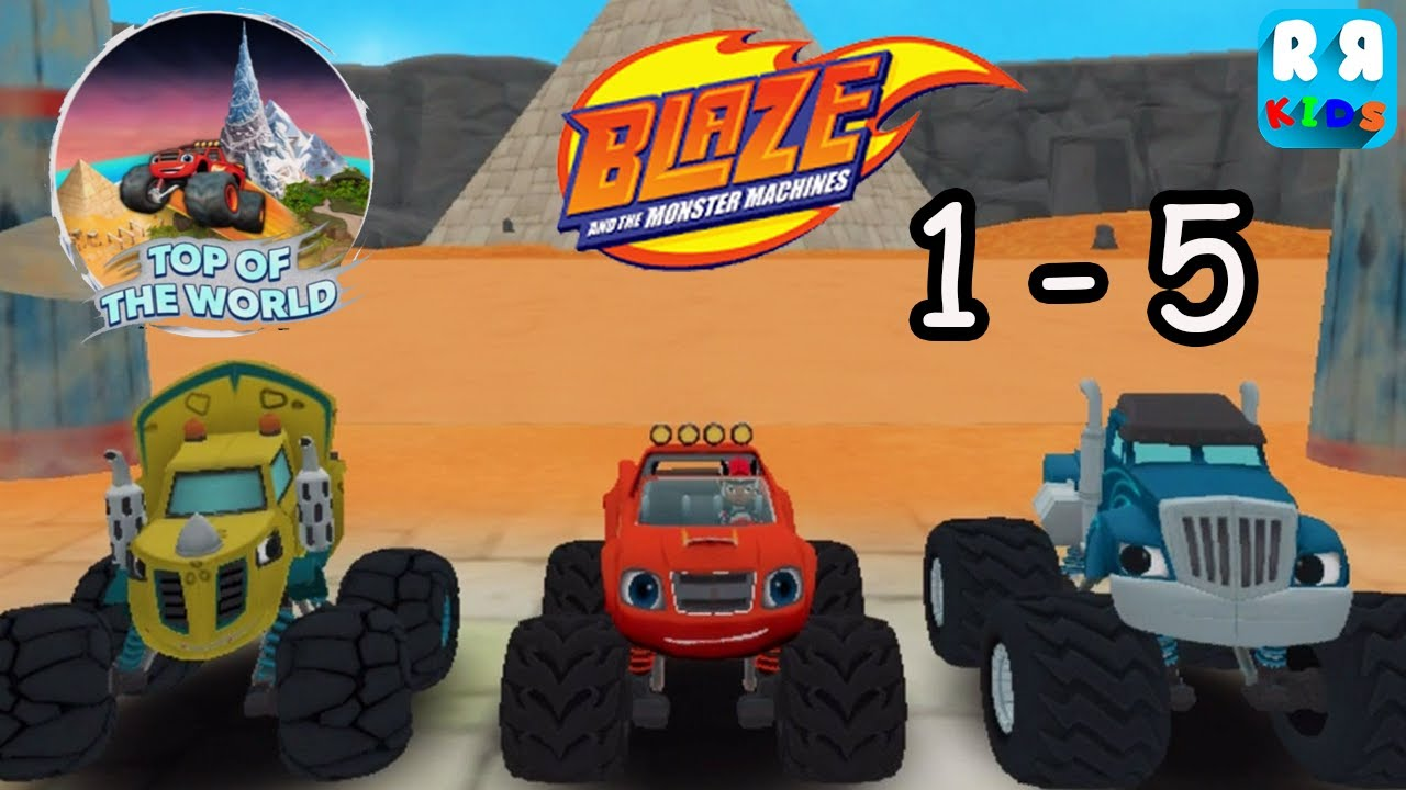 Blaze And The Monster Machines Top Of The World Track 1