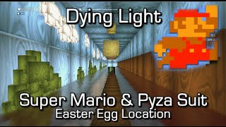 Dying Light - Super Mario World 1-1 Easter Egg & Pyza Suit (wingsuit) Blueprint Location