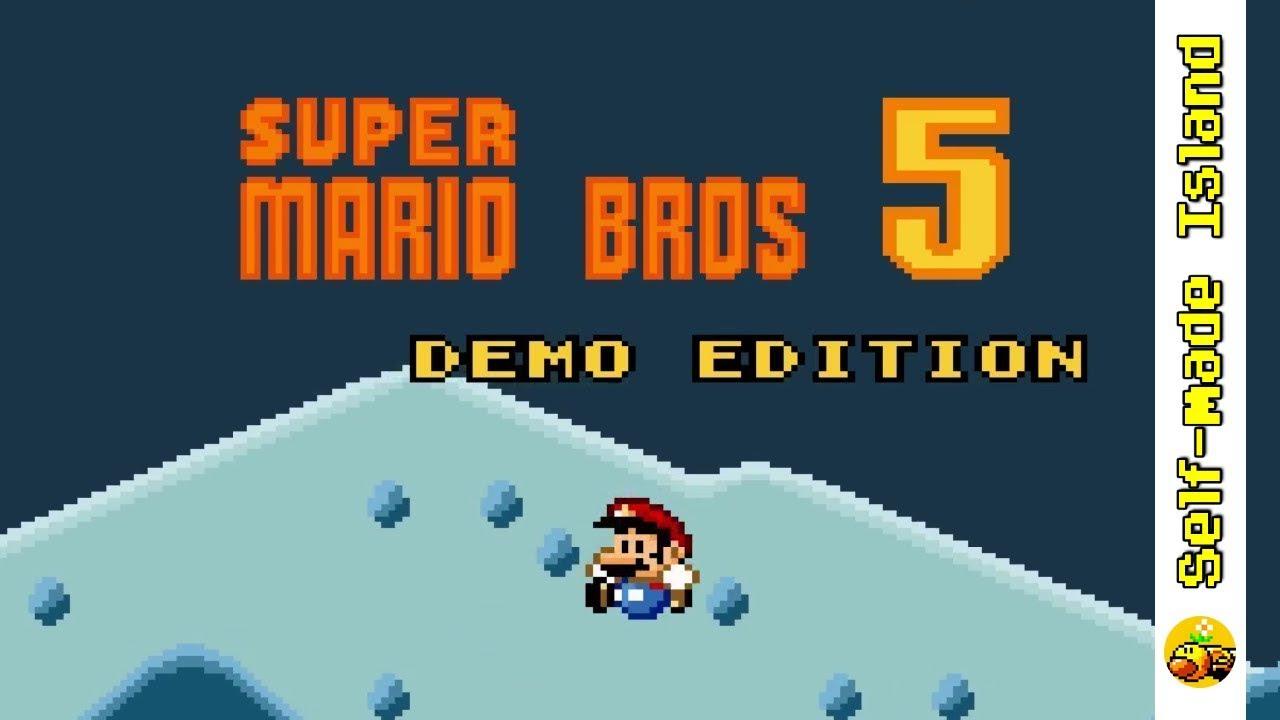 Super Mario Bros  5 • Super Mario World ROM Hack