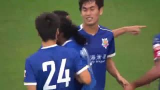Chima  Goals 2016.10.22 R.30 China League Shanghai Shenxin 4:1 Beijing BK