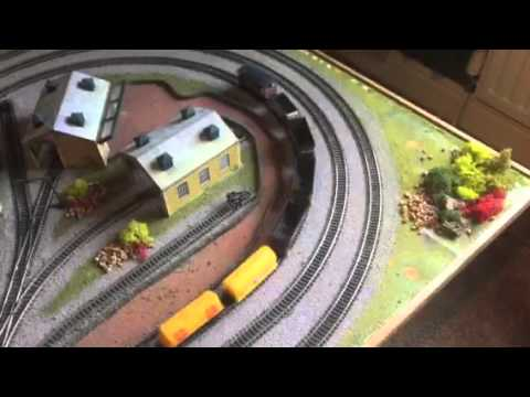 For Sale on Gumtree Hornby 00 6'x4′ Table Layout with Rolling Stock and Buildings