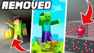 10 CANCELLED Updates That Were NEVER in Minecraft!