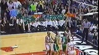 Celtics @ Bulls, 1998 (Scottie Pippen Highlights)