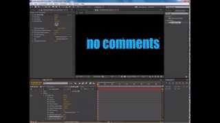 Уроки Adobe After Effects. Текст, разлетающийся в пыль (или на куски). CC Pixel Poly.