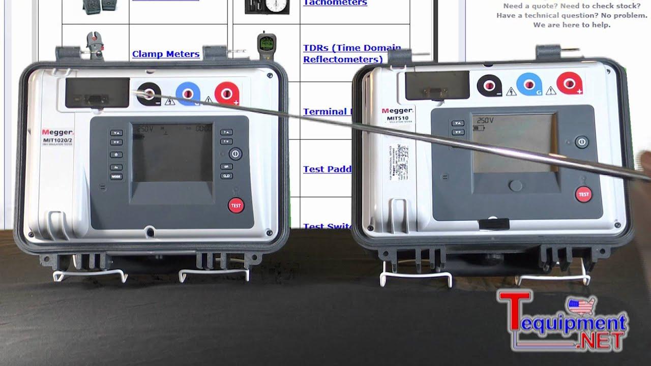 Megger 5KV & 10KV Insulation Testers