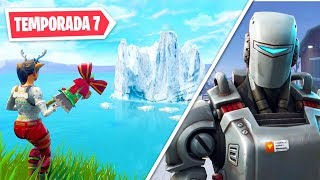 Assisti o ICEBERG Chegar no Fortnite Temporada 7!