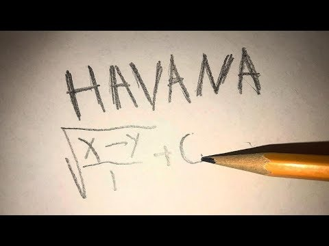 Havana played on pencil