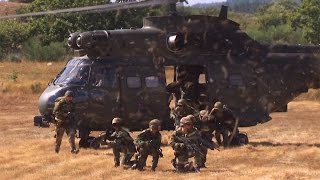 Internationale Helikopterübung - Hot Blade 2014