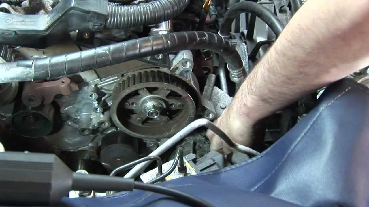 replacing a denso diesel common rail fuel pump