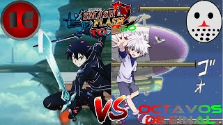 Kirito VS Killua|Torneo de Anime-Comb #1(SSF2)|👾Imajin GT Player🎮 y andres209gamer
