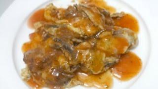 Tortang Sardinas (Canned Sardine Omelette)
