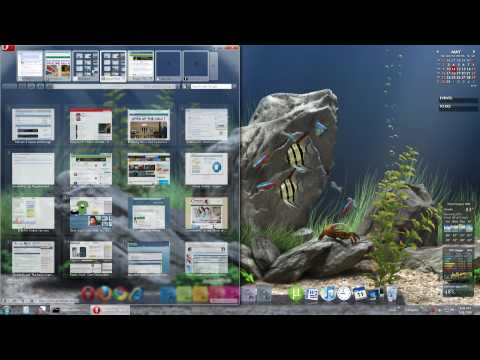Epic Desktop Aquarium - DreamAquarium Background