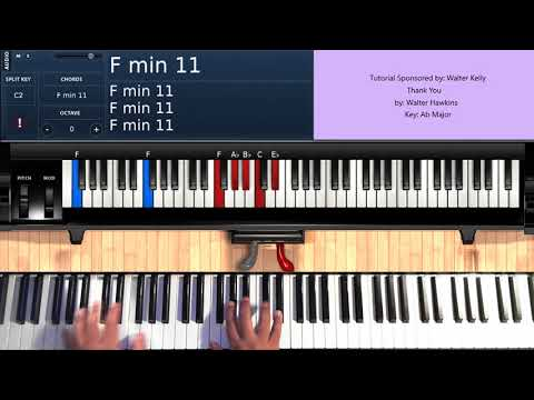 Thank You (by Walter Hawkins) - Piano Tutorial