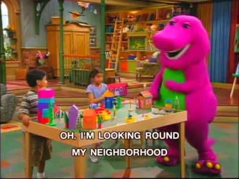 Barney My Neighborhood Song Youtube