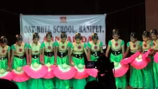 DAV BHEL School Ranipet 2016 Fan Dance