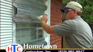 Hurricane Shutters From Hometown Contractors, Inc. Pensacola, Fl
