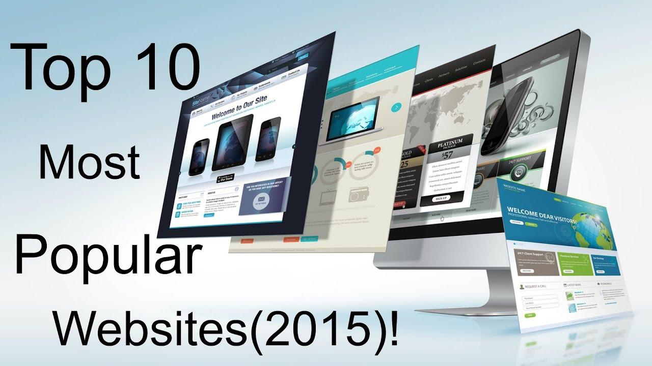 Best rated websites 2015