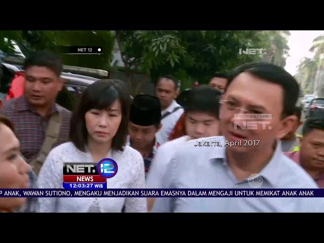 Viral Surat Gugatan Cerai Mantan Gubernur DKI Jakarta, Basuki Tjahaja Purnama - NET 12