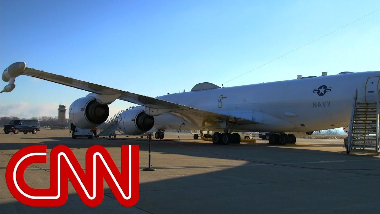 Here S Why An E 6b Doomsday Plane Was Flying Tight Circles Off The