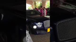 Video LUXURY  NEW  BENTLEY MULSANNE   KING OF  PERLIS  MALAYSIA MOTORCADE  2016 download MP3, 3GP, MP4, WEBM, AVI, FLV Juli 2018