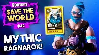 IK HEB EEN *MYTHIC* HERO RAGNAROK SKIN!! - Fortnite Save The World #42