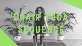Chair Yoga Sequence For Arthritis, Injuries & Mobility Issues!
