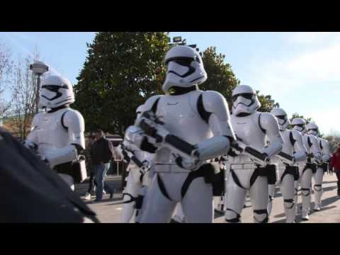 First Order March - Disneyland Paris Season of the Force Star Wars (Official Footage)
