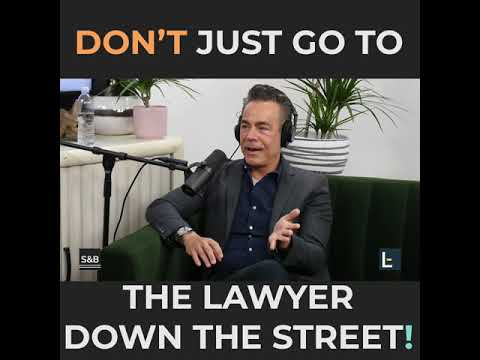 Legal Tip of the Week | Arash Homampour | Don't Just Go To The Lawyer Down The Street