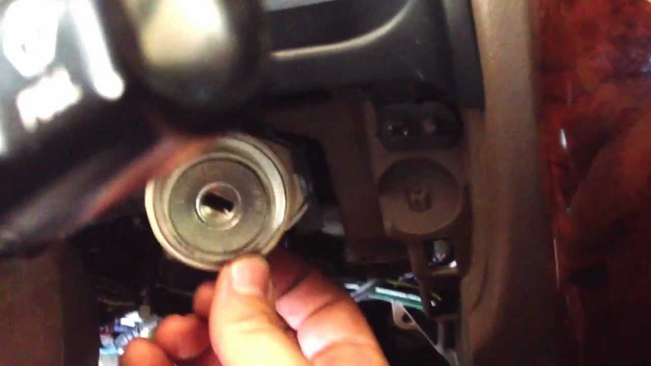 1995 toyota 4runner wiring diagram for radio how to remove 96 01 ignition lock cylinder youtube