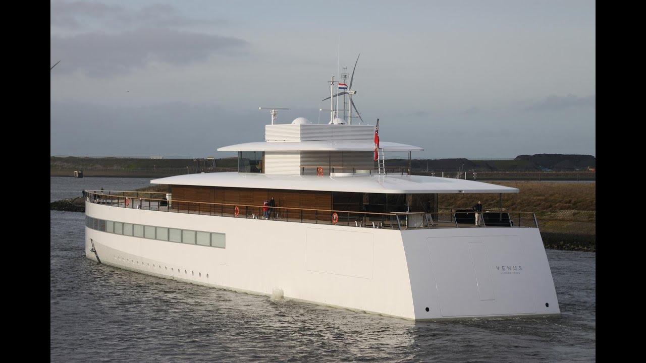 expensive $138 million Venus Yacht (Steve Jobs Yacht ...