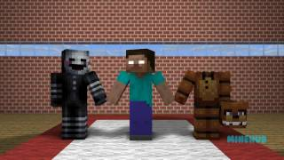 FNAF Monster School: Sports Challenge - Minecraft Animations (Five Nights At Freddy's)