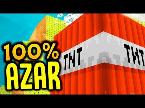 CUBÃO LUCKY BLOCK : CUBÃO 100% AZAR!! (MINECRAFT TROLL)