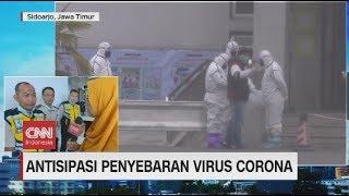 Live streaming 24 jam: https://www.cnnindonesia.com/tv untuk mencegah peredaran wabah virus korona, pihak bandara internasional juanda, surabaya dan ngurah r...