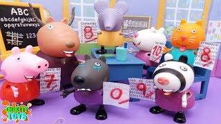 ❤ PEPPA PIG ❤ Danny Dog suspende su examen !!! | videos de peppa pig en español