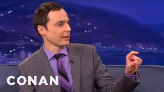 "Jim Parsons Will Never, Ever Forget ""The Elements"" Song - CONAN on TBS"