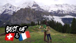 Gambar cover FRENCH FAIRYTALE & SWISS POSTCARD VILLAGES // Colmar, France & Lauterbrunnen, Switzerland