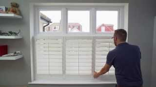 Window Shutter Glossary - Inside Mount