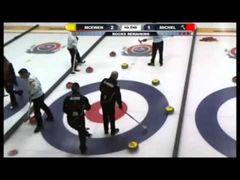 Pomeroy Inn & Suites Prairie Showdown: Mike McEwen vs Sven Michel