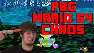 Mario 64 Chaos Edition - PBG Gameplay Highlights