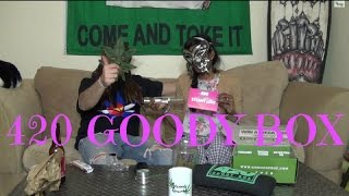 420 Goody Box Steamy Love Edition Unboxing  February 2015