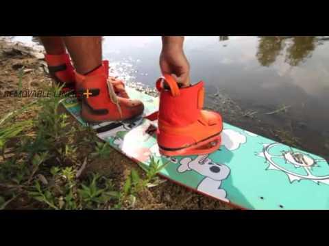 2014 Slingshot Shredtown Wakeboard Boots