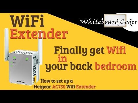 WiFi Extender: Finally get Wifi in your back bedroom!!