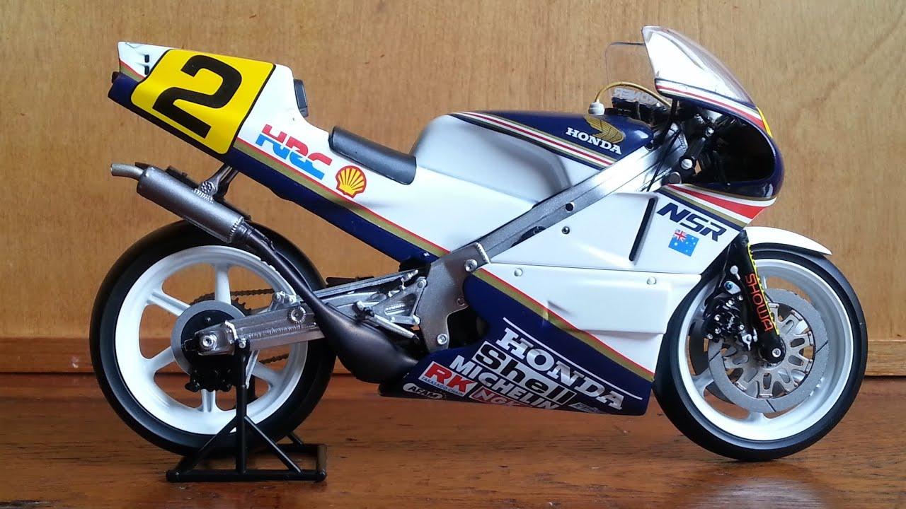 Honda NSR 500, Wayne Gardner 1987 - YouTube