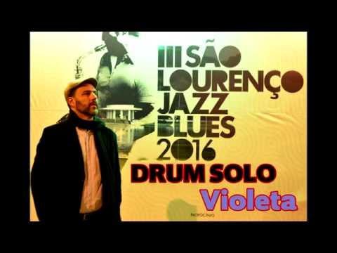 DRUM SOLO VIOLETA - Julio Bittencourt Trio São Lourenço Jazz Blues