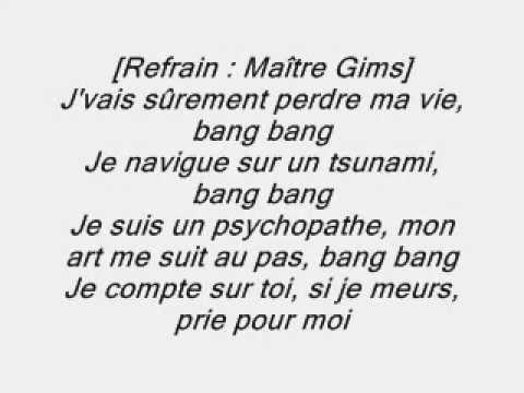 Maska Feat Maître Gims - Prie pour moi 2014 [parole officiel]