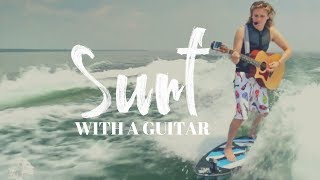 One of Chris Hau's most viewed videos: Surfing with a GUITAR!