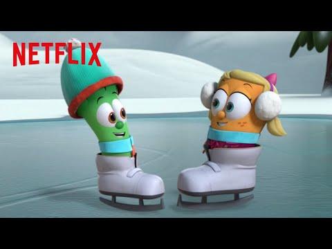 Race Ya!  Veggie Tales in the City  Netflix