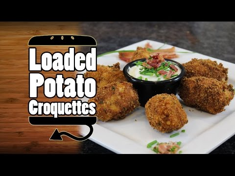 Loaded Mashed Potato Croquettes Recipe HellthyJunkFood