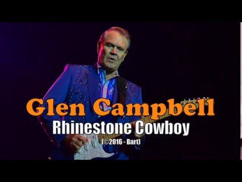 Glen Campbell - Rhinestone Cowboy (Karaoke)